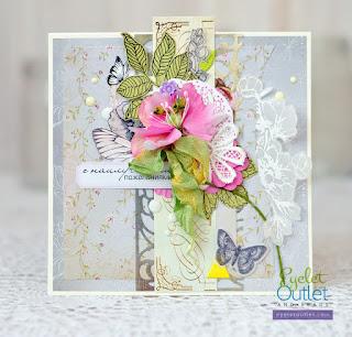 card by Marina Gridasova @akonitt #cards #card #by_marina_gridasova #eyeletoutlet #enameldots #brads