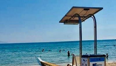 ΠΡΕΒΕΖΑ: Τοποθετήθηκε ράμπα για προσβαση ατόμων με αναπηρία στην παραλία της Καστροσυκιάς