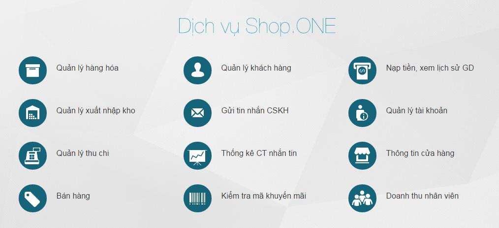 tinh nang shop one viettel