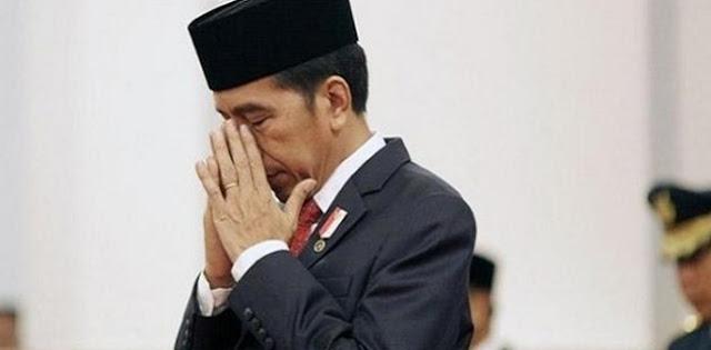 Sebentar Lagi Jokowi Rontok