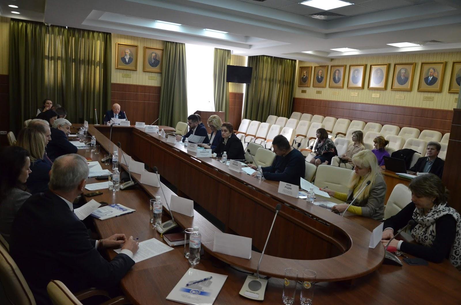 Круглий стіл «Взаємодія банків та університету: партнерські програми»