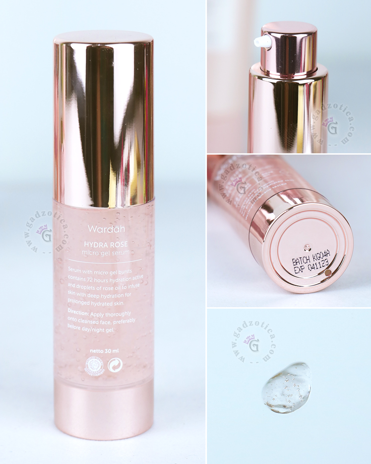 Review Wardah Hydra Rose Micro Gel Serum