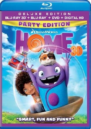 Home 2015 BluRay 300Mb Hindi Dual Audio 480p