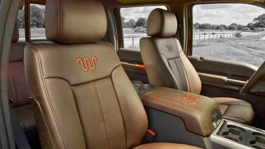 2017 Ford F 250 King Ranch Interior