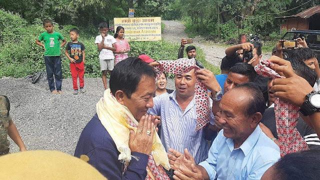 Binoy Tamang return to Darjeeling