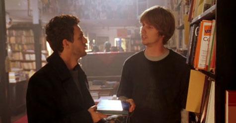David Abbott (Mark Ruffalo) y Darryl (Jon Heder) en Ojalá fuera cierto - Cine de Escritor
