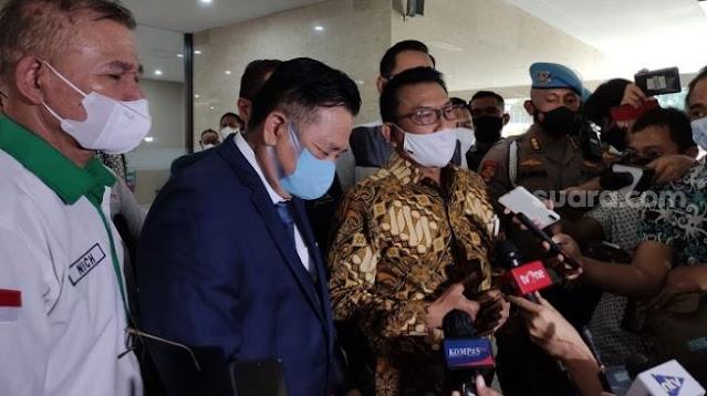 Didampingi Otto Hasibuan, Moeldoko Akhirnya Laporkan ICW ke Bareskrim Polri
