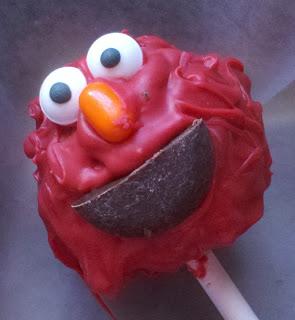 Elmo Cake Pops Tutorial