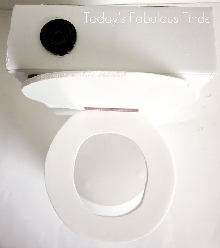 Today S Fabulous Finds Flushing Toilet Valentine Box