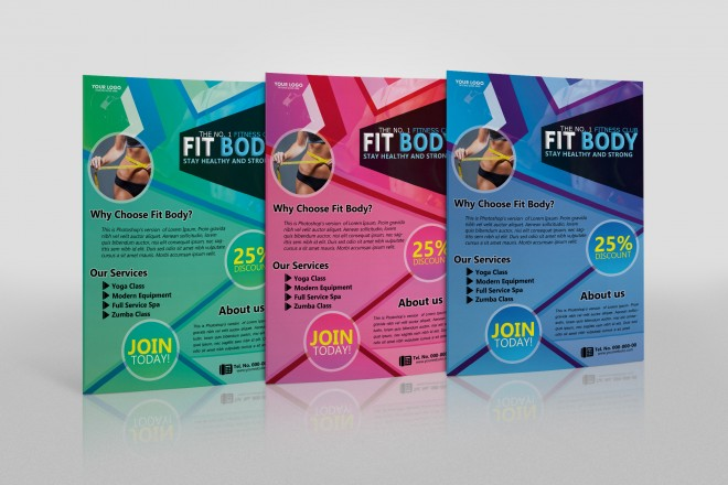 Free Fit Body - Fitness Flyer