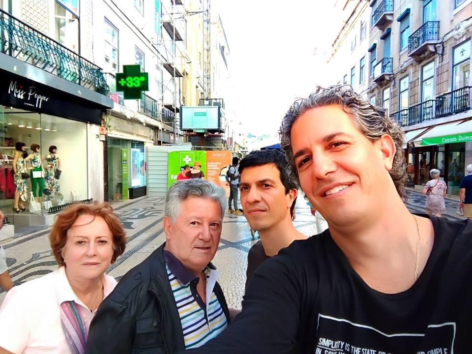 conexaoregional: CONEXAO SOCIAL : Momentos da família Aguiar Martins na  Europa.