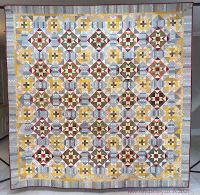 Bonnie Hunter's Grassy Creek 2020 Mystery Quilt