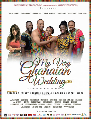 My Very Ghanaian Wedding; A Movie That Talks About The Love And Ghanaian Cultural Values