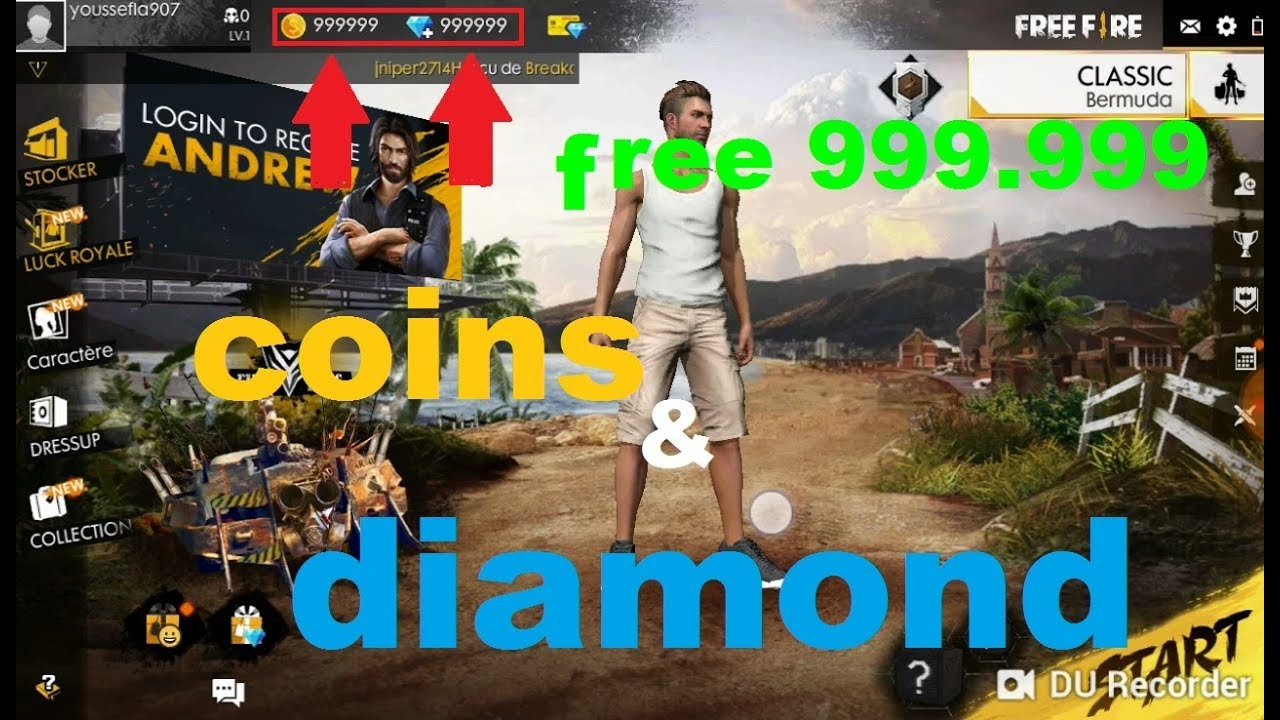Get Freefire Unlimited Coins and Diamonds For Free! 100% Working [November 2020]