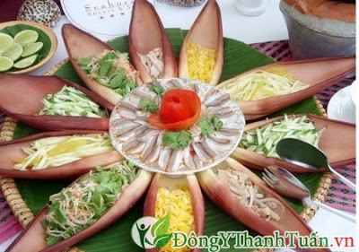 cách chữa đau dạ dày tại nhà với hoa chuối