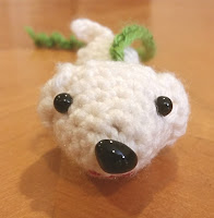 Puppy in My Palm crochet amigurumi pattern