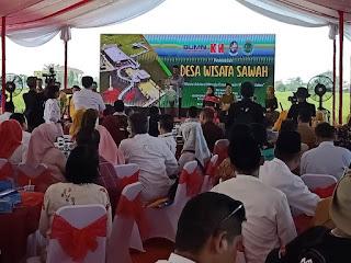Aria Sinulingga Apresiasi PT KIM Berdayakan Masyarakat Desa Pematang Johar