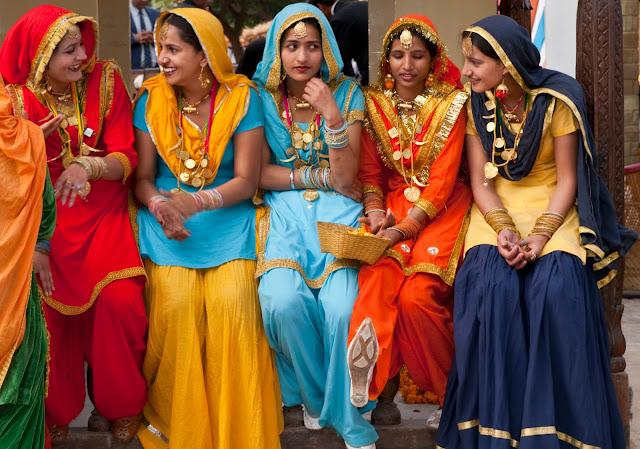 Красочная Индия