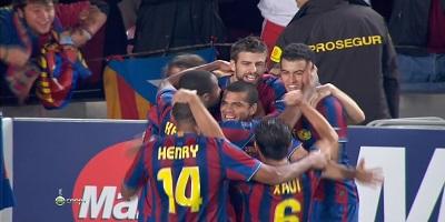 UEFA Group F : Barcelona 2 vs 0 Inter Milan 24-11-2009