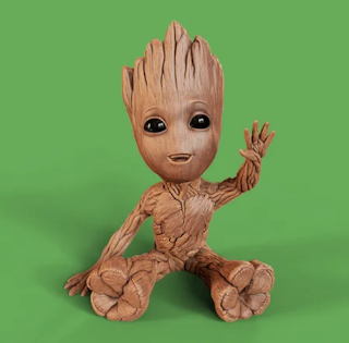 Baby Groot 3D Model Download for FREE
