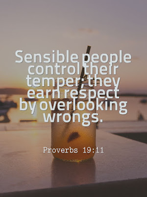 bible verses daily today s message proverbs 19 11