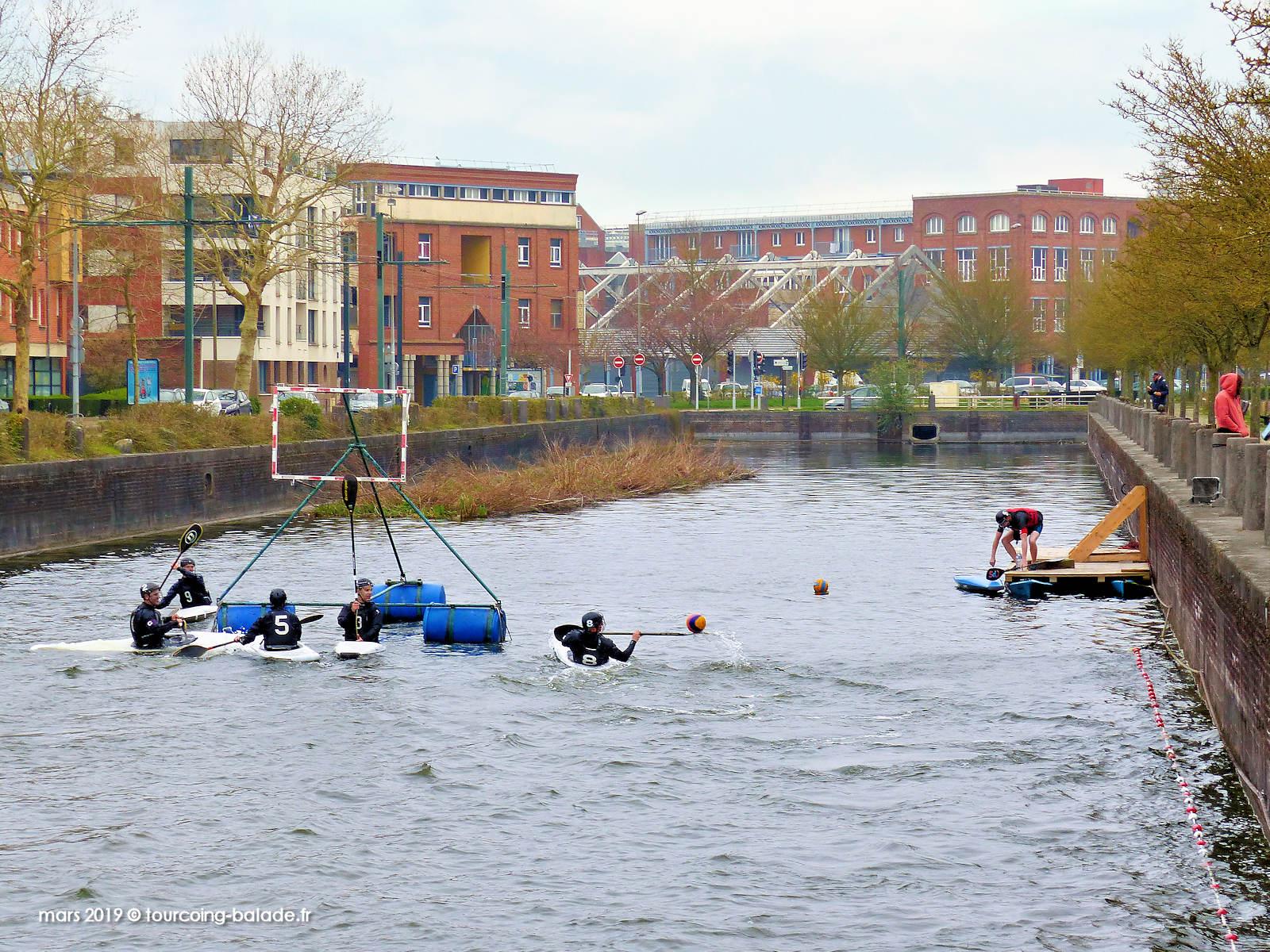 Kayak-Polo, Canal de Tourcoing, 2019