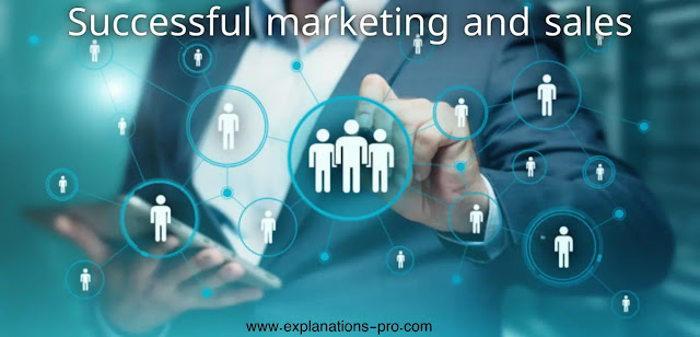 Successful marketing and sales