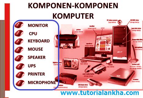 Belajar Komputer | Mengenal Komponen Pada Komputer