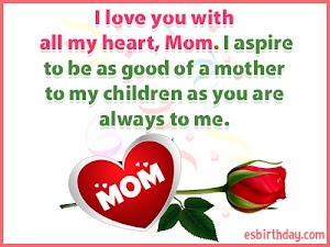 Happy Birthday Messages for Mom