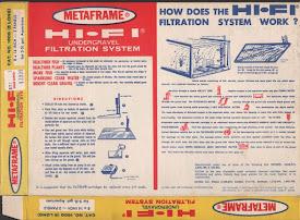 Metaframe Under Gravel Filter
