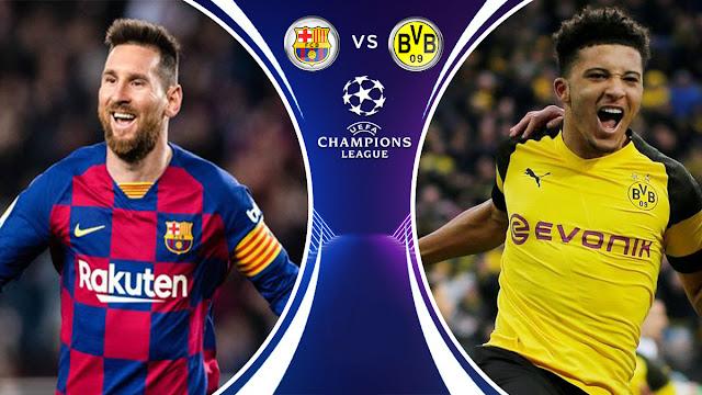 تقديم مباراة برشلونة و بوروسيا دورتموند دوري أبطال أوروبا