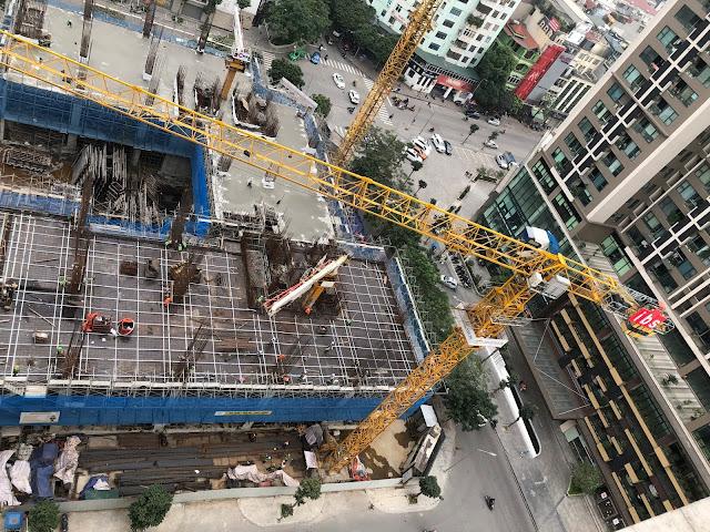 tiến độ xây dựng dự án Harmony Square