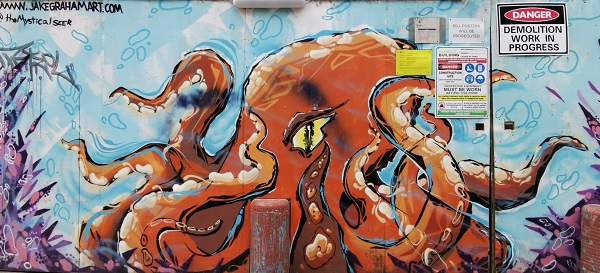 Manly Street Art by Jake Graham | Sydney Public Art