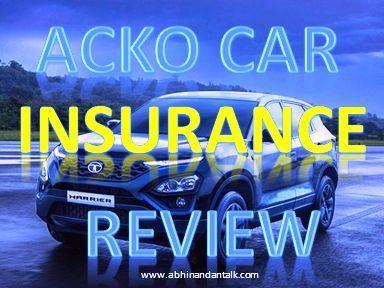 acko car insurance review
