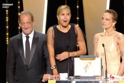 Festival de Cannes 2021 Palme d'or Titane Julia Ducournau CINEBLOGYWOOD