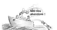 Resultado de imagem para ABANDONOU O BARCO EM DESENHO