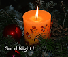Good Night candle images - Candle Images for WhatsApp Status