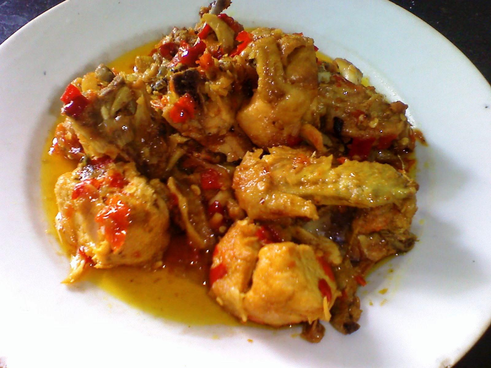 kumpulan resep masakan online resep ayam rica rica khas