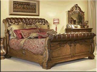 inspiring hollywood bedroom furniture set   Painting an old 'Hollywood' Bedroom Set