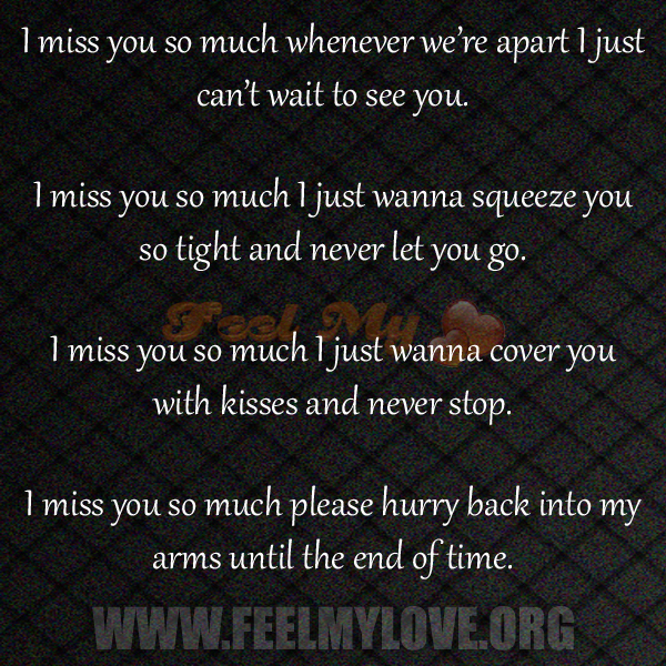 i miss you and love you so much quotes - photo #11
