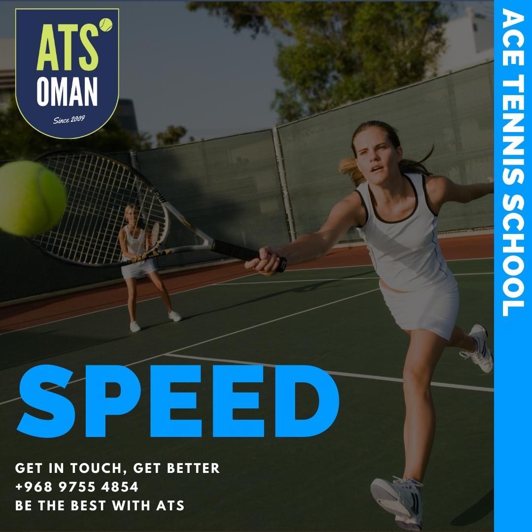 Tennis lessons Muscat Oman Ace Tennis School ATS