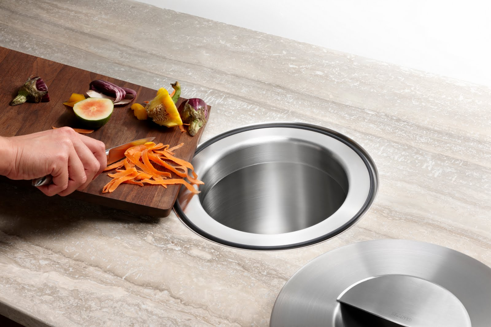Inspired House Countertop Composting
