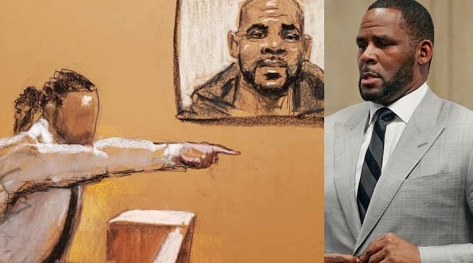 """He crawled down on his knees and gave me oral sex - """"R. Kelly's first male accuser testifies in court"""