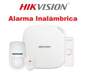 ALARMAS HIKVISION INALÁMBRICAS