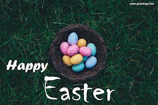 Happy Easter wishes, Easter eggs pictures