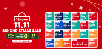 Shopee Big Christmas Sale 2020