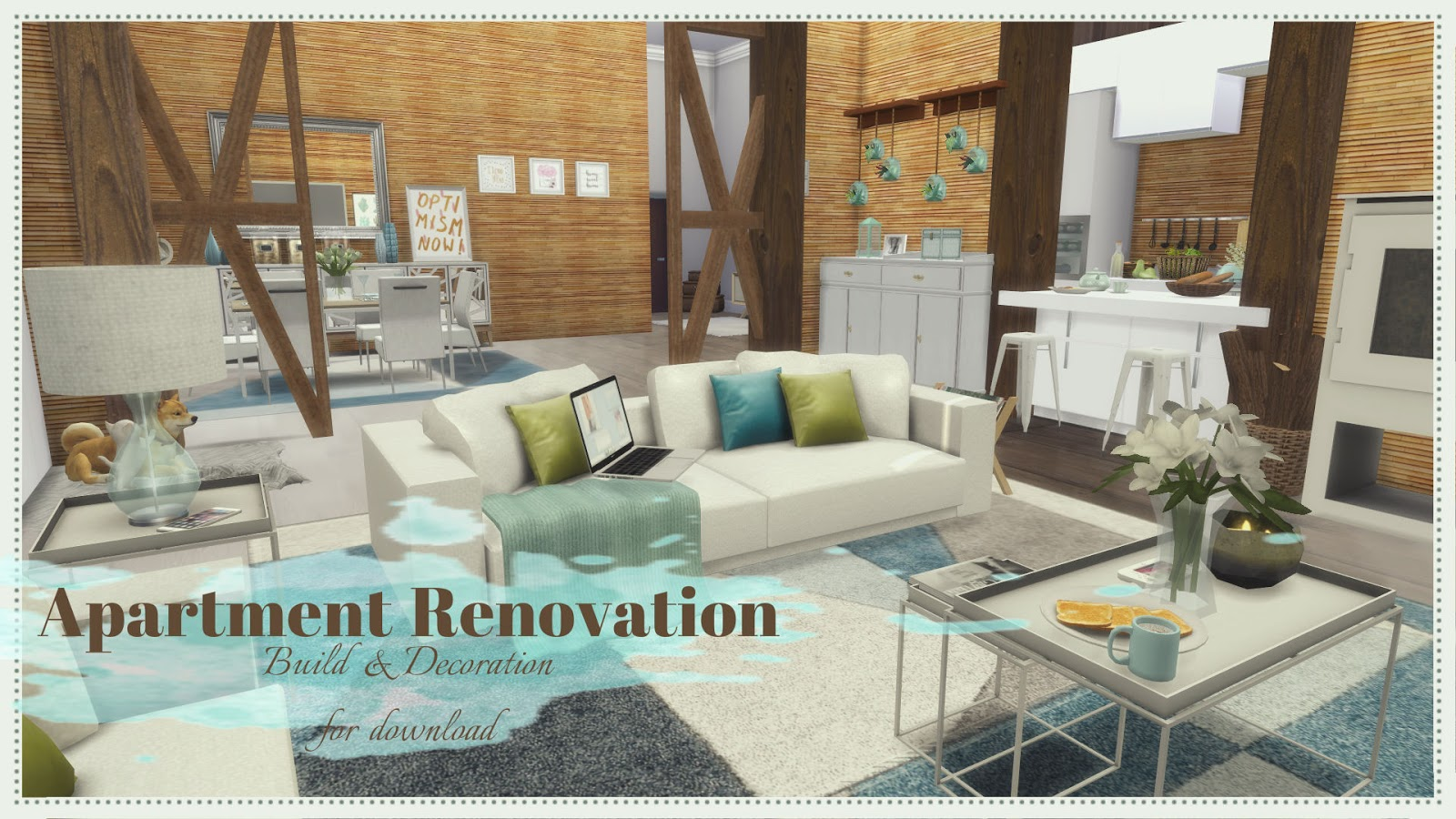 Sims 4 Apartment Renovation Iii House Mods For Download