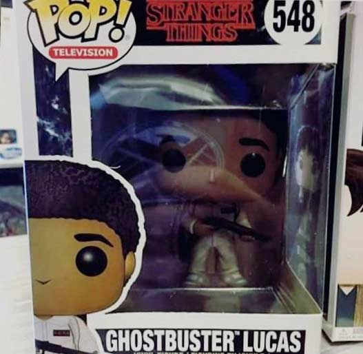 8684845bc0a ... Funko Stranger Things Season 2 Ghostbuster Outfits Pop Vinyl Figures