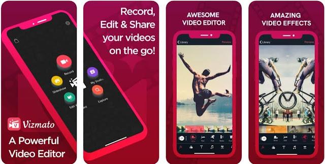 تطبيق مونتاج فيديو للايفون