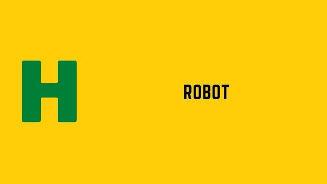 HackerRank Robot problem solution